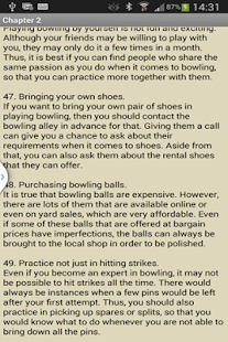 Bowling Tips- screenshot thumbnail