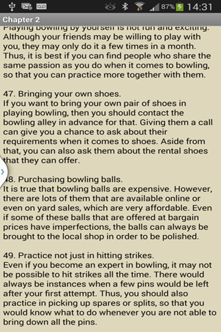 Bowling Tips- screenshot