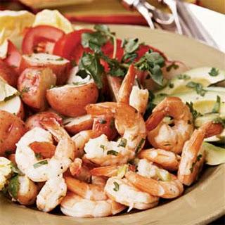 Lime Shrimp Salad