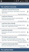 Screenshot of GetLazy Forum