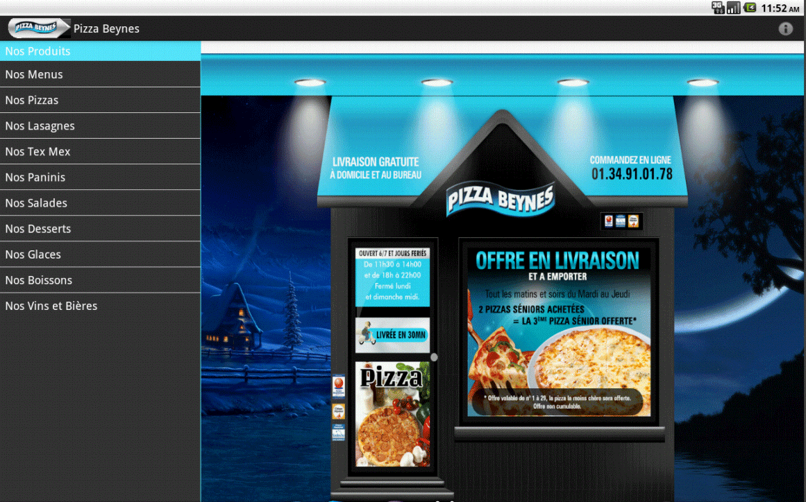 Pizza Presto Beynes - screenshot
