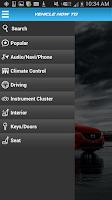 Screenshot of MyMazda