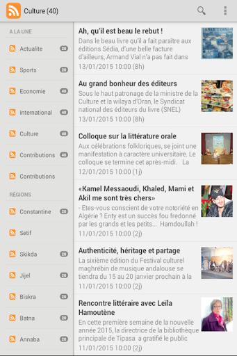El Watan : Flux RSS