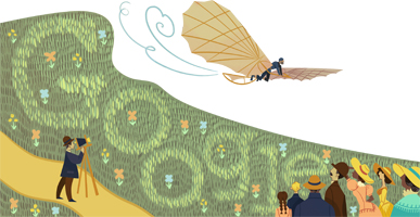 Otto Lilienthal's 166th Birthday