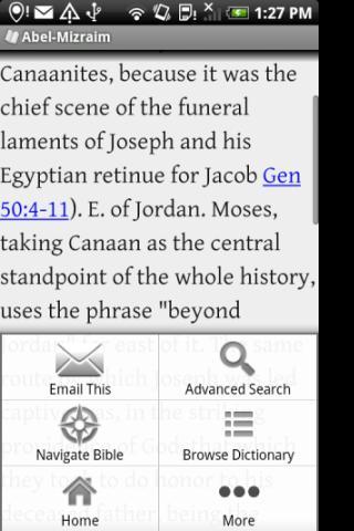 Mega Bible Dictionary- screenshot