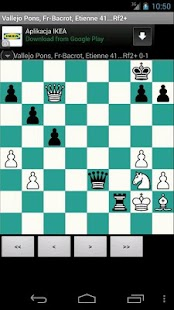 Free Chess PGN Browser - screenshot thumbnail