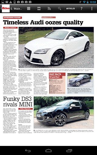 【免費新聞App】South Wales Echo Newspaper-APP點子