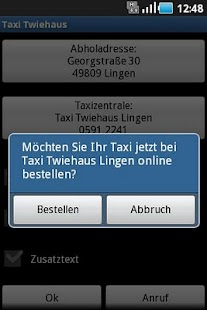 Taxi Twiehaus- screenshot thumbnail
