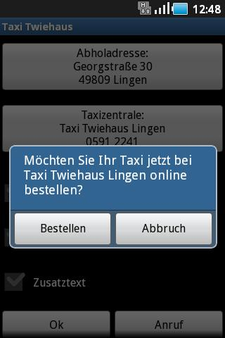 Taxi Twiehaus- screenshot