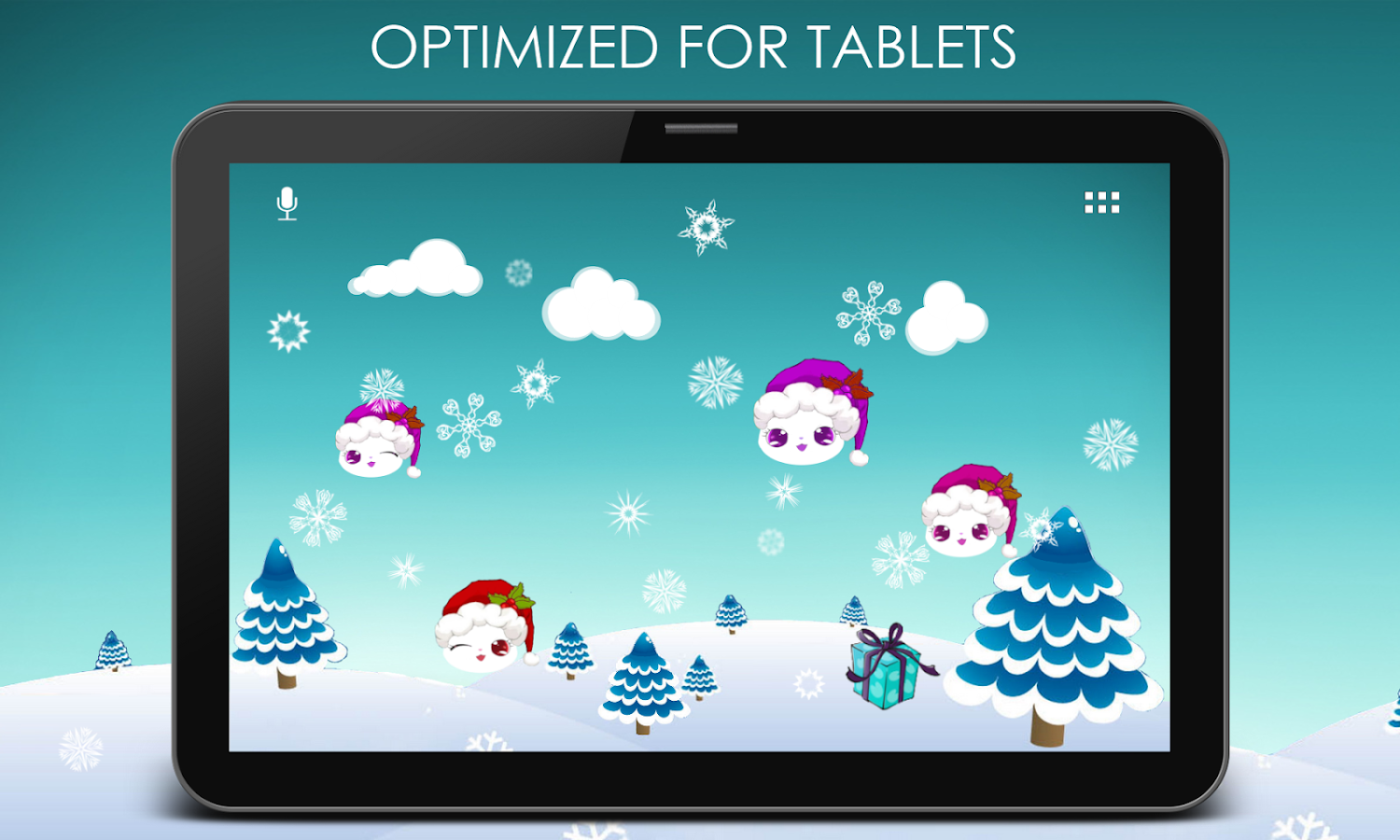Lily Kitty Snow Live Wallpaper Apl Android Di Google Play