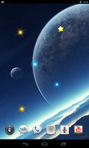 Space Music HD live wallpaper