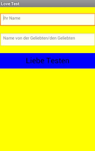 Liebes Test
