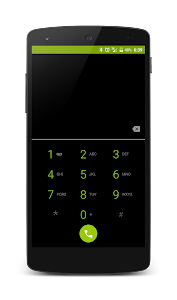 Dark Holo Green CM12 Theme v2.4