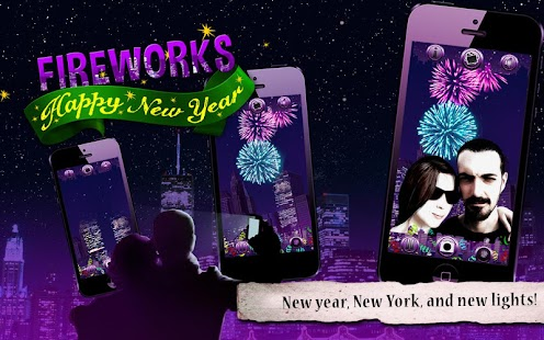 Happy New Year Fireworks- screenshot thumbnail