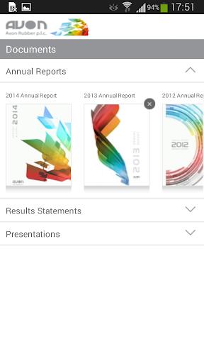 【免費商業App】Avon-Rubber Investor Relations-APP點子