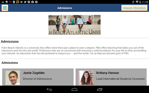 Palm Beach Atlantic University- screenshot thumbnail