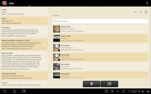 Ushahidi - screenshot thumbnail