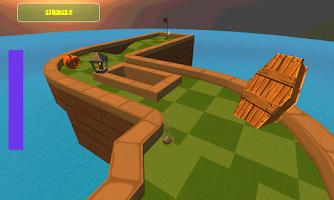 Screenshot of Halloween Mini Golf Games 3D