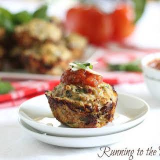 Chicken Parmesan Muffins.