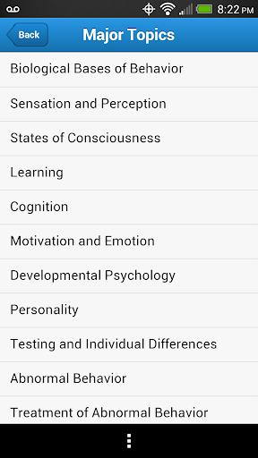 AP College Psychology Practice