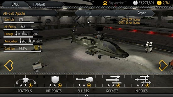 CHAOS Combat Helicopter HD №1 - screenshot thumbnail