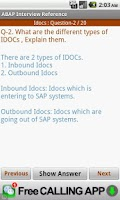 Screenshot of SAP ABAP Interview Reference