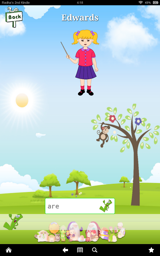 Teach First Grade for Android- screenshot