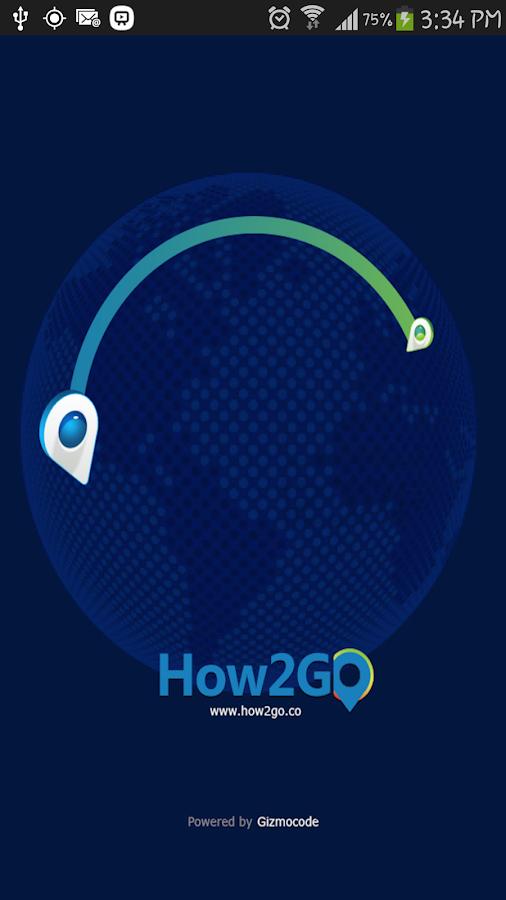 How2Go - screenshot