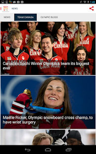 CBC Olympics - screenshot thumbnail