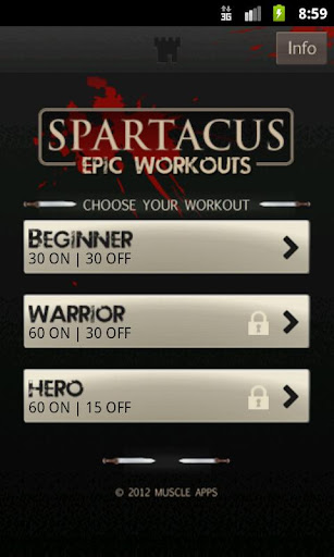 免費健康App|Spartacus Workout|阿達玩APP