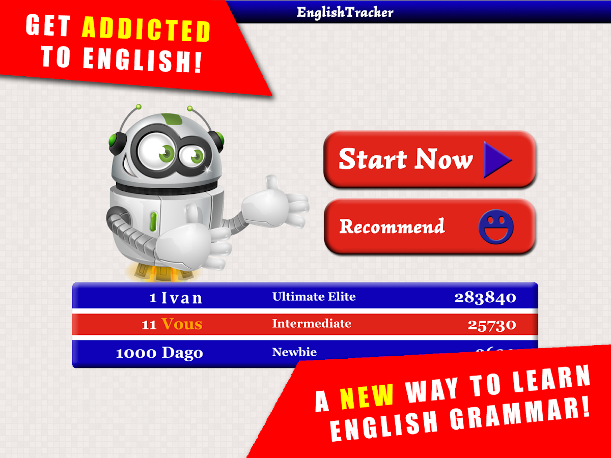 Game to learn English- screenshot