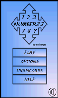 Screenshot of 15 Number Puzzle Game