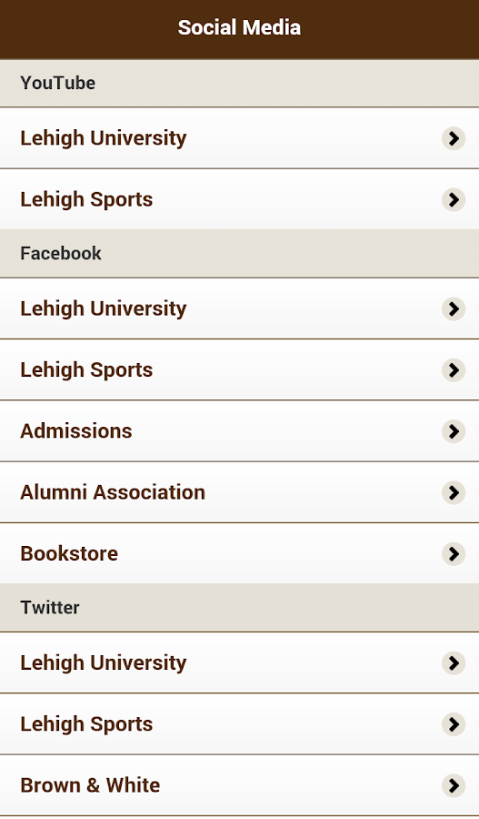 LehighU Live- screenshot