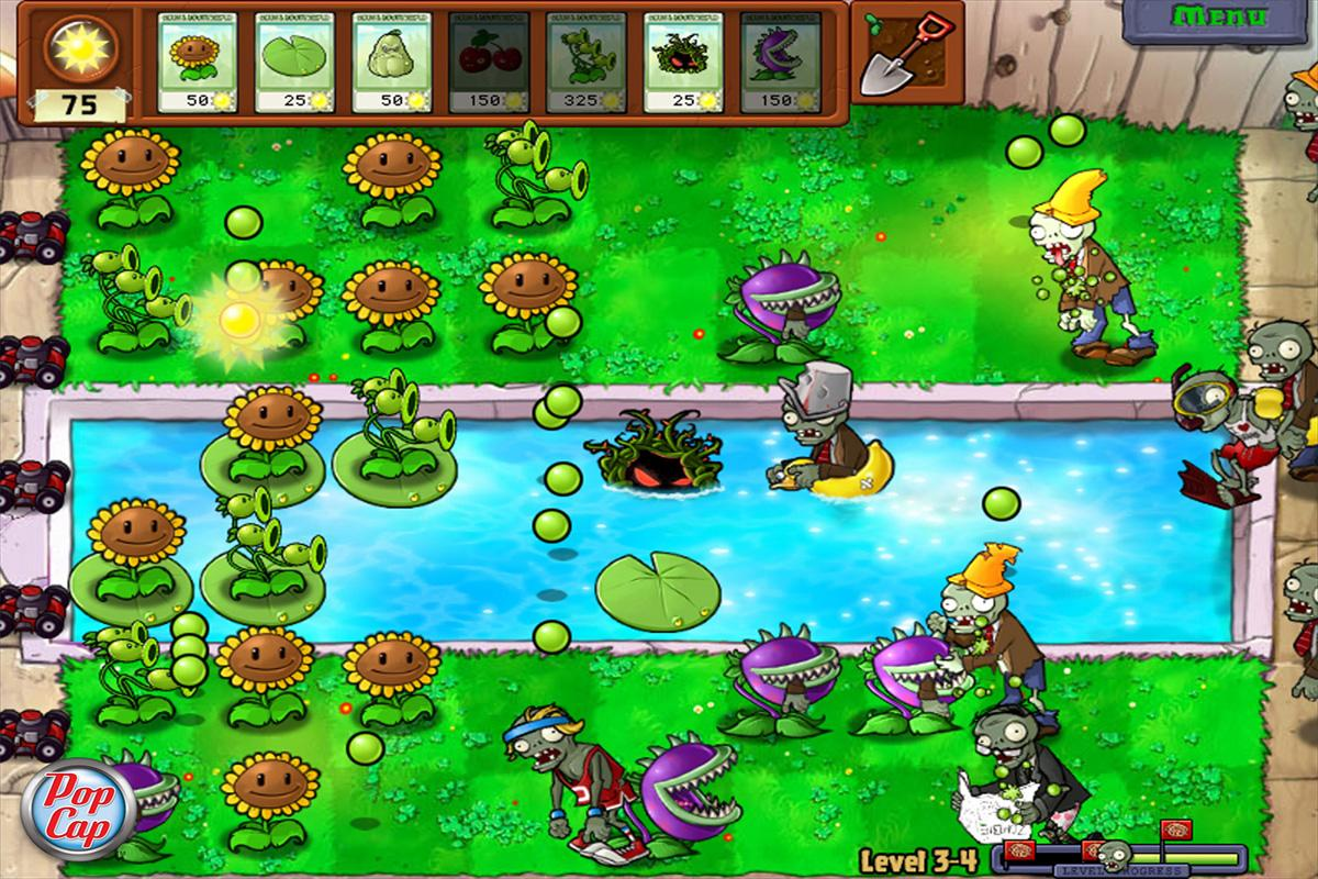 Zombie VS Plants Game Cheats - screenshot