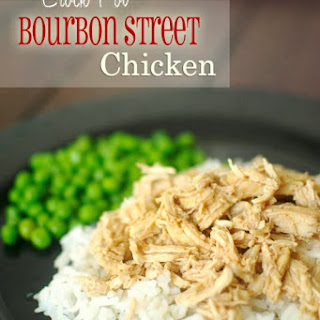 Crock Pot Bourbon Street Chicken.