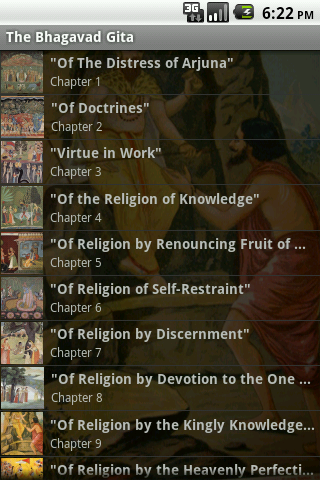 The Bhagavad Gita – AudioEbook - screenshot