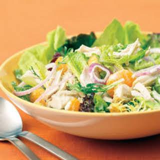 Mandarin Chicken Salad.