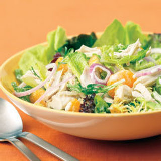 Mandarin Chicken Salad.