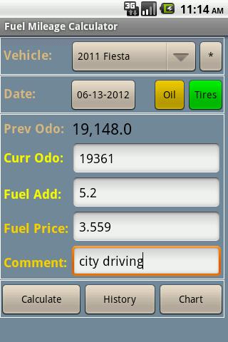 gas mileage cost estimator