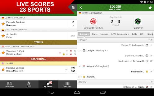 FlashScore Screenshot 12