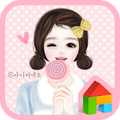 Hedge Pink Dodol luncher theme