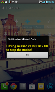 Notification Missed Calls - screenshot thumbnail