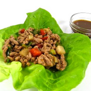 Low Carb Chicken Lettuce Wraps