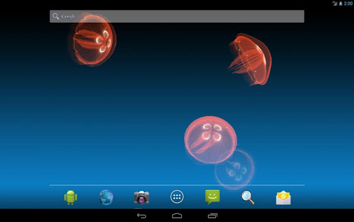 Live Jellyfish app for Android screenshot