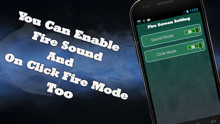 Shout Fire Screen Prank 1.0 screenshot 411104