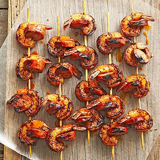 Shrimp and Chorizo Kabobs