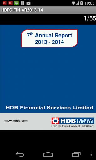 HDB Fin Services Ltd AR2013-14