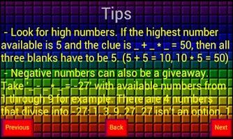 Screenshot of Math Box Free