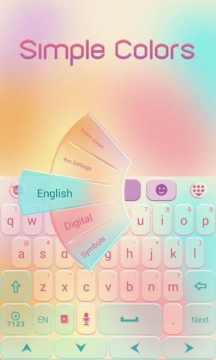 Simple Colors Keyboard Theme|玩個人化App免費|玩APPs