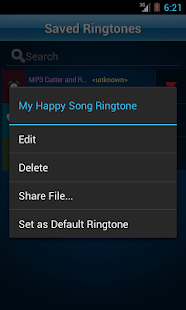 MP3 Cutter and Ringtone Maker♫- screenshot thumbnail